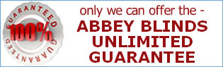 abbey blinds guarantee