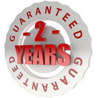 2 year no quibble guarantee