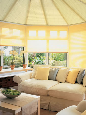 conservatory blinds roof and side