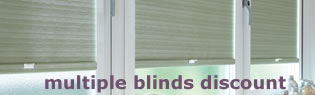 multi blind discounts on roller blinds