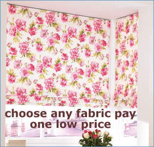 one low price roman blinds policy
