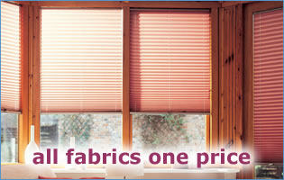all fabrics one price conservatory blinds