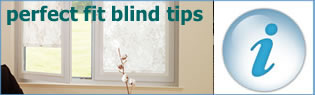 vertical blind tips