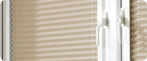 pleated blind white perfect fit frame